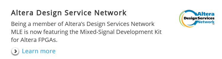 Altera Design Service Network